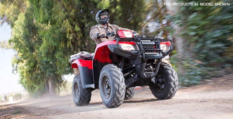 2017 Honda FourTrax Foreman Rubicon 4x4 DCT in Ontario, California