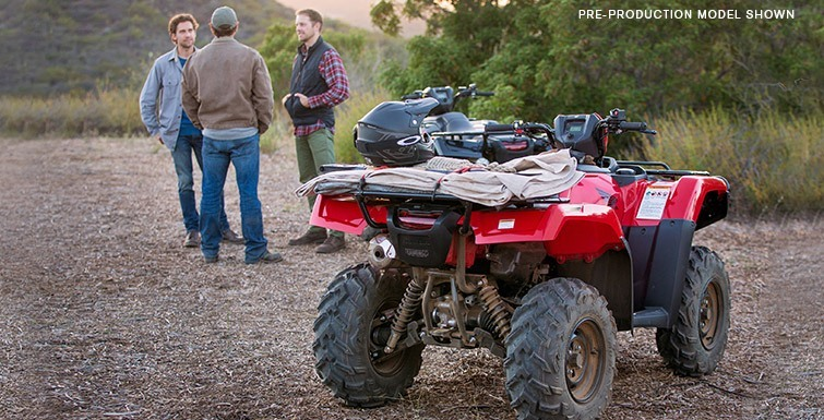 2017 Honda FourTrax Foreman Rubicon 4x4 DCT in Hollister, California