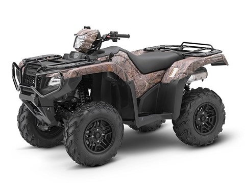 2017 Honda FourTrax Foreman Rubicon 4x4 DCT EPS Deluxe in Springfield, Ohio