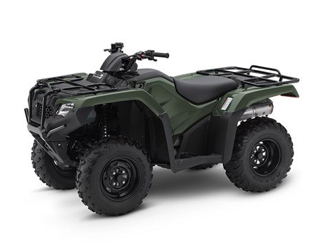 2017 Honda FourTrax Rancher 4x4 in North Reading, Massachusetts
