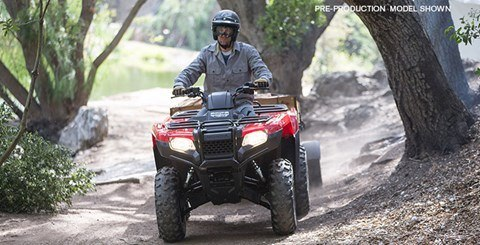 2017 Honda FourTrax Rancher 4x4 DCT EPS in Fort Pierce, Florida