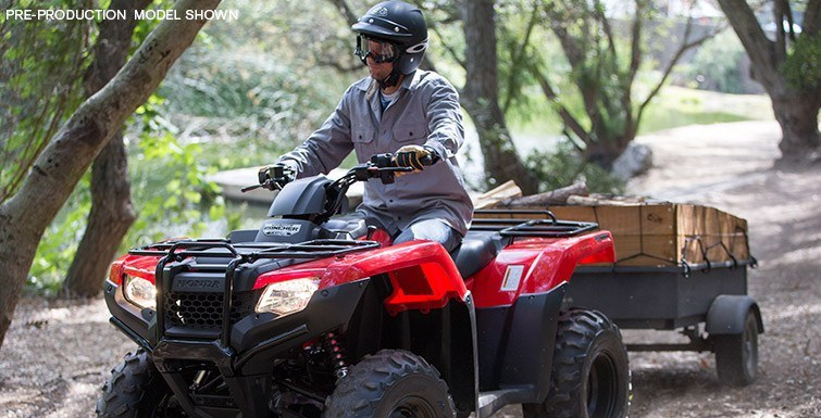 2017 Honda FourTrax Rancher 4x4 DCT EPS in Delano, Minnesota