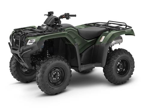 2017 Honda FourTrax Rancher 4x4 DCT IRS in Huron, Ohio