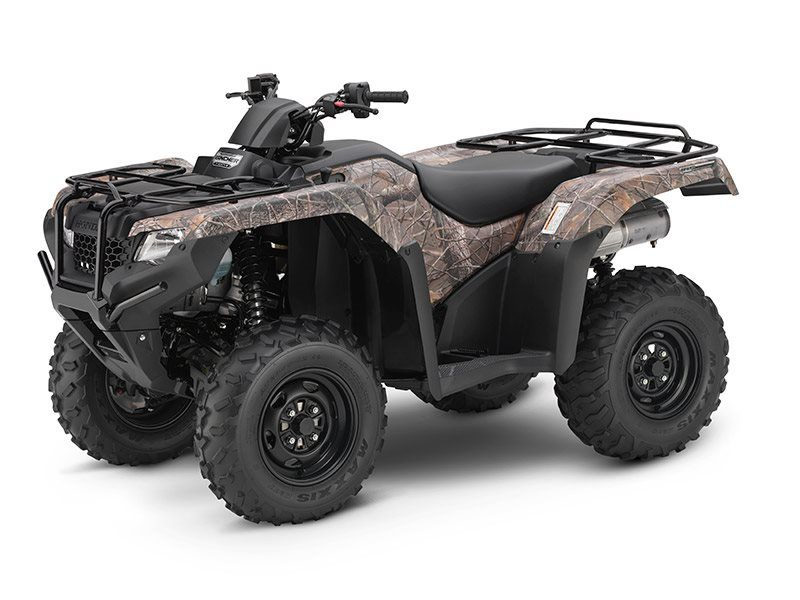 2017 Honda FourTrax Rancher 4x4 DCT IRS EPS in Delano, California