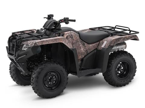 2017 Honda FourTrax Rancher 4x4 ES in Florence, South Carolina