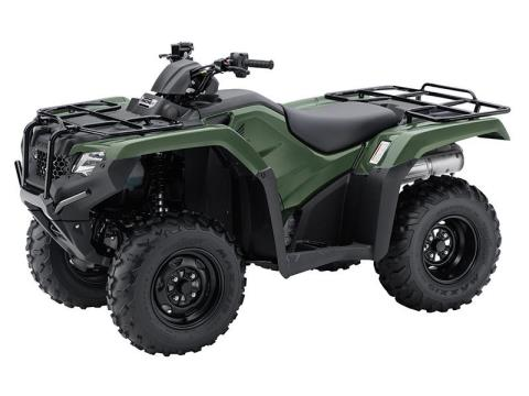 2017 Honda FourTrax Rancher 4x4 ES in New Bedford, Massachusetts