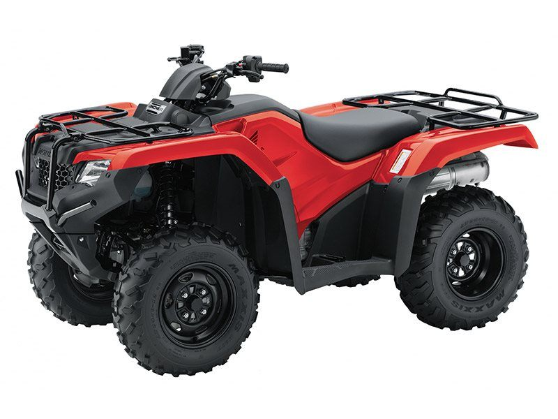 2017 Honda FourTrax Rancher 4x4 ES in Belle Plaine, Minnesota
