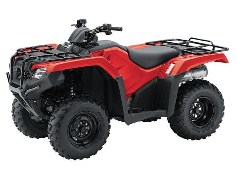 2017 Honda FourTrax Rancher 4x4 ES in West Bridgewater, Massachusetts