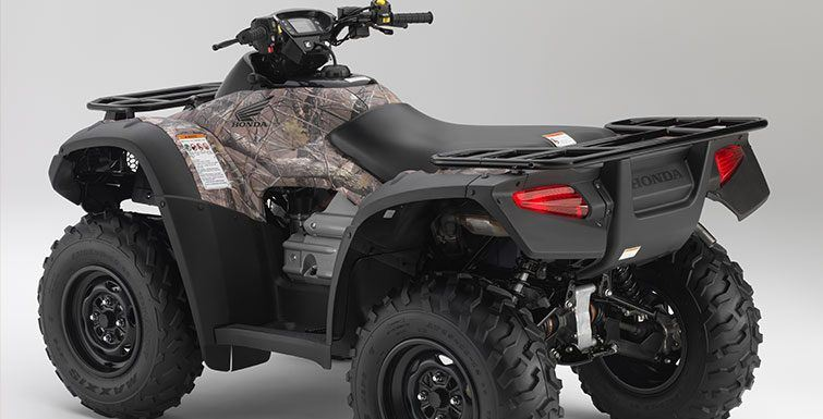 2017 Honda FourTrax Rincon in Visalia, California