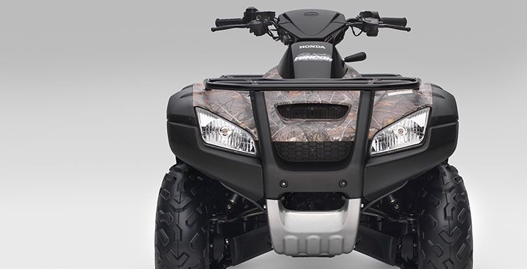 2017 Honda FourTrax Rincon in Adams, Massachusetts