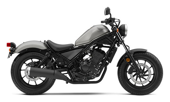2017 Honda Rebel 300 1