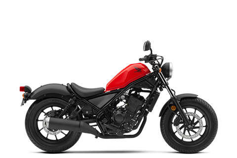 2017 Honda Rebel 300 in Crystal Lake, Illinois