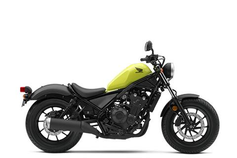 2017 Honda Rebel 500 in Scottsdale, Arizona