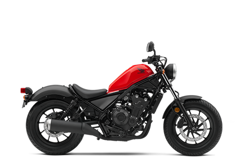 2017 Honda Rebel 500 in Redding, California