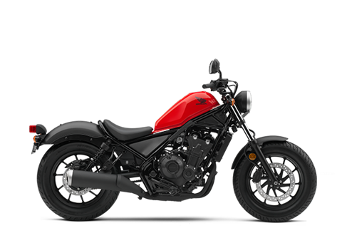 2017 Honda Rebel 500 in Crystal Lake, Illinois
