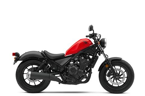 2017 Honda Rebel 500 in Jamestown, New York - Photo 1