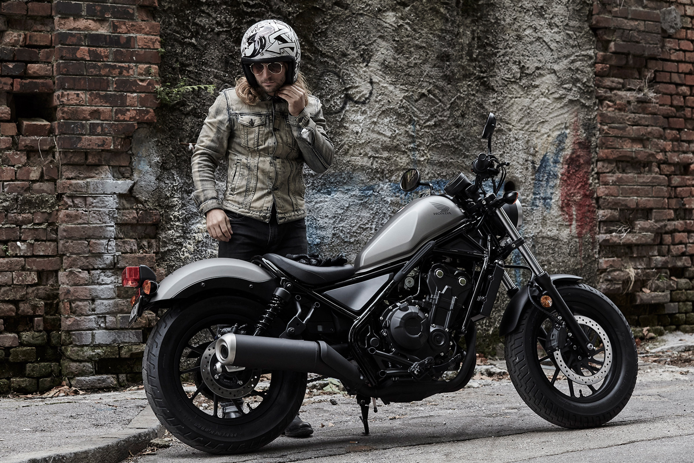 2017 Honda Rebel 500 ABS in Lapeer, Michigan