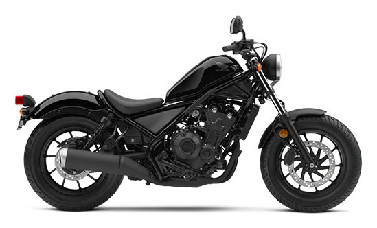 2017 Honda Rebel 500 ABS in Manitowoc, Wisconsin