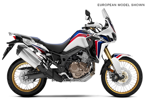 2017 Honda Africa Twin in Hot Springs National Park, Arkansas