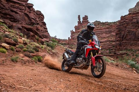 2017 Honda Africa Twin DCT in Hot Springs National Park, Arkansas