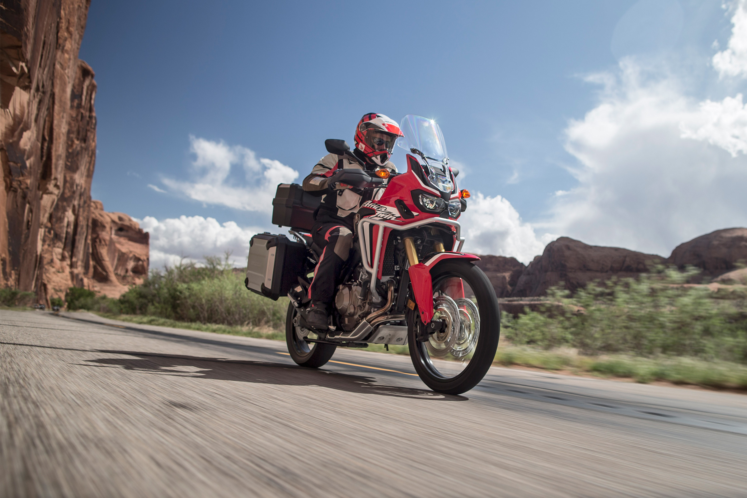 2017 Honda Africa Twin DCT in Phillipston, Massachusetts