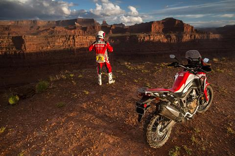 2017 Honda Africa Twin DCT in Amherst, Ohio