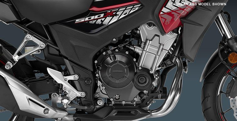 2017 Honda CB500X ABS in Corona, California