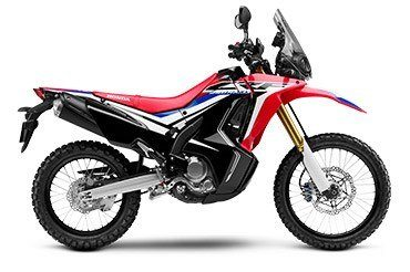 2017 Honda CRF250L Rally ABS in Johnson City, Tennessee