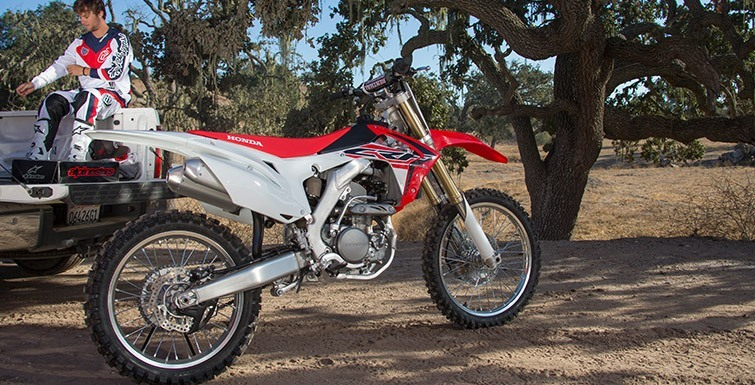2017 Honda CRF250R in Paw Paw, Michigan