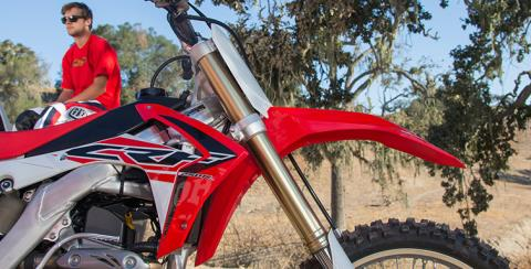 2017 Honda CRF250R in Winchester, Tennessee - Photo 3