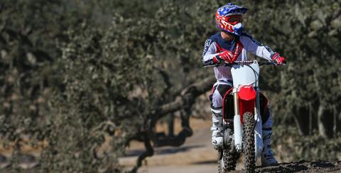 2017 Honda CRF250R in Albuquerque, New Mexico