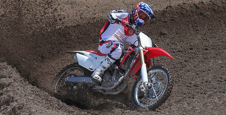 2017 Honda CRF250R in Ukiah, California