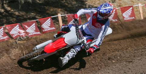 2017 Honda CRF250R in Phillipston, Massachusetts