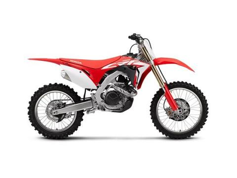 2017 Honda CRF450R in Paw Paw, Michigan