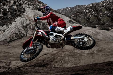 2017 Honda CRF450R in Ithaca, New York