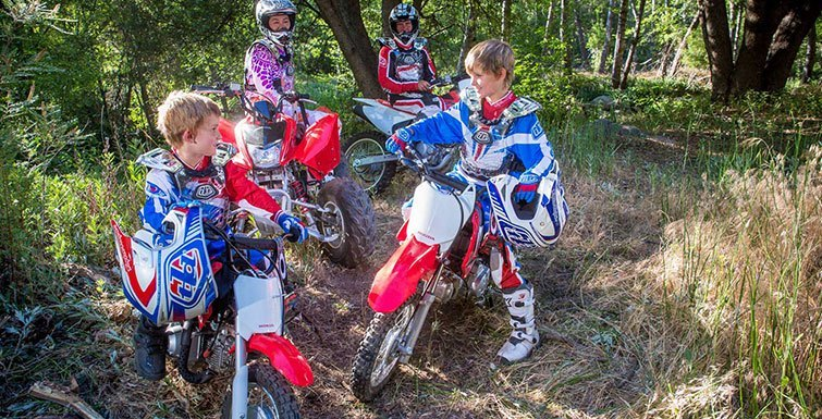 2017 Honda CRF110F in Phillipston, Massachusetts