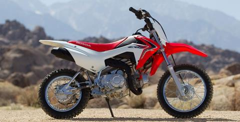 2017 Honda CRF110F in Adams Center, New York