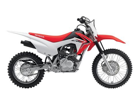2017 Honda CRF125F in Ithaca, New York