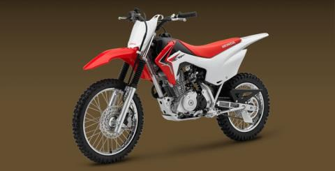 2017 Honda CRF125F in Elizabeth City, North Carolina