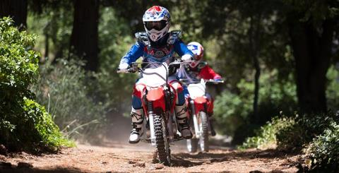 2017 Honda CRF125F in West Bridgewater, Massachusetts