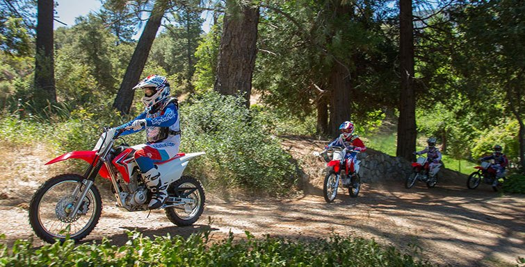 2017 Honda CRF125F in Hollister, California