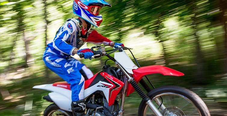2017 Honda CRF125F (Big Wheel) in Littleton, New Hampshire