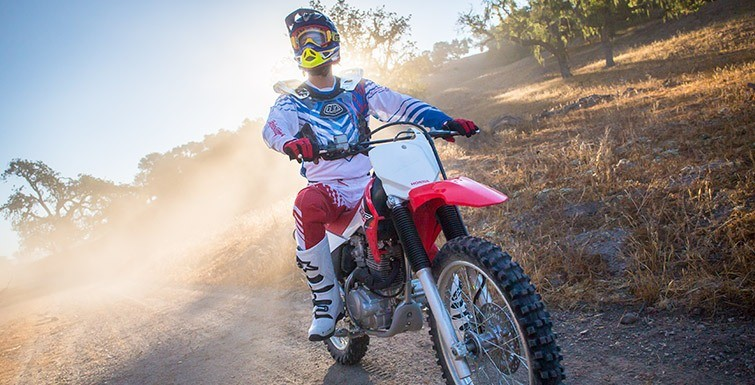 2017 Honda CRF230F in Sterling, Illinois