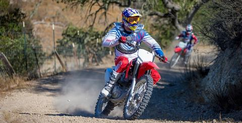 2017 Honda CRF230F in Keokuk, Iowa