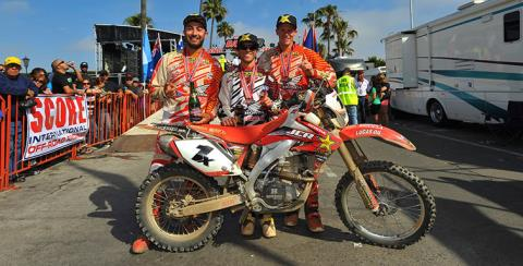 2017 Honda CRF450X in Huntington Beach, California
