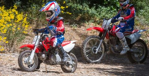 2017 Honda CRF50F in Freeport, Illinois
