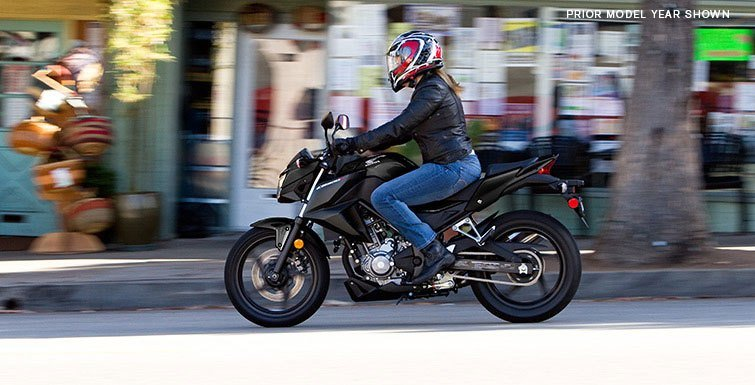 2017 Honda CB300F in Phillipston, Massachusetts