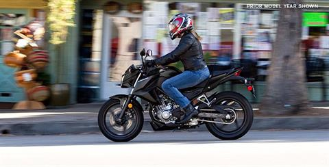 2017 Honda CB300F ABS in Beloit, Wisconsin
