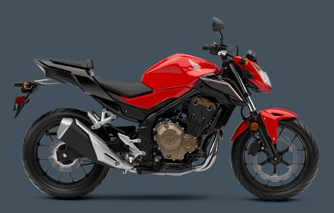 2017 Honda CB500F in Chattanooga, Tennessee