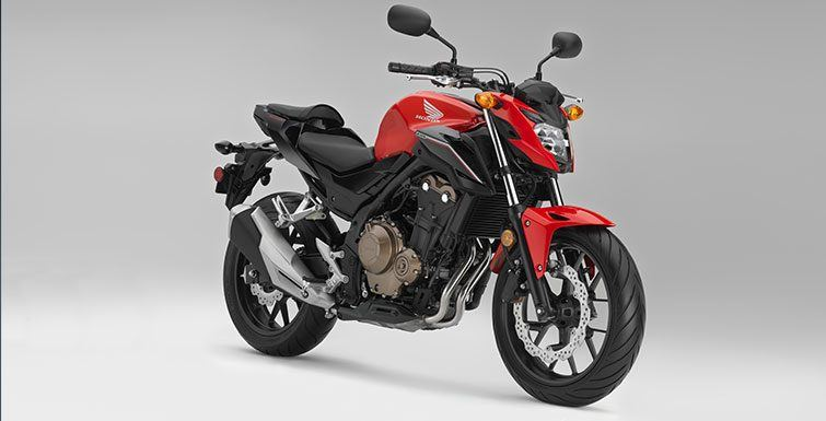 2017 Honda CB500F ABS in Orange, California